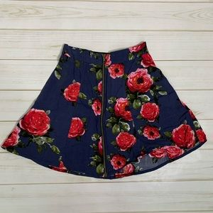 Flower circle skirt Pin Needles Urban Outfitters